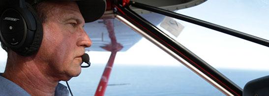 MARK WHITE, CHIEF FLIGHT INSTRUCTOR/INSTRUCTOR TRAINER